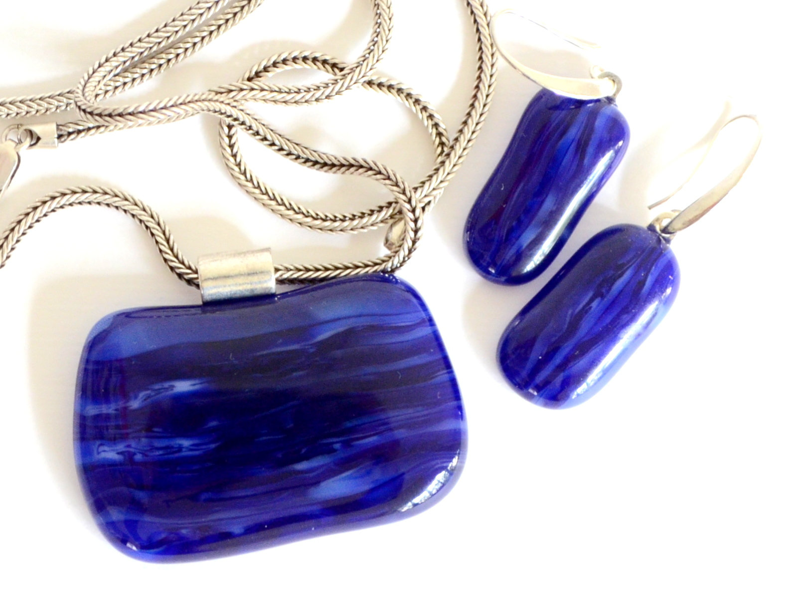 Tranquility - Glass Jewellery Set