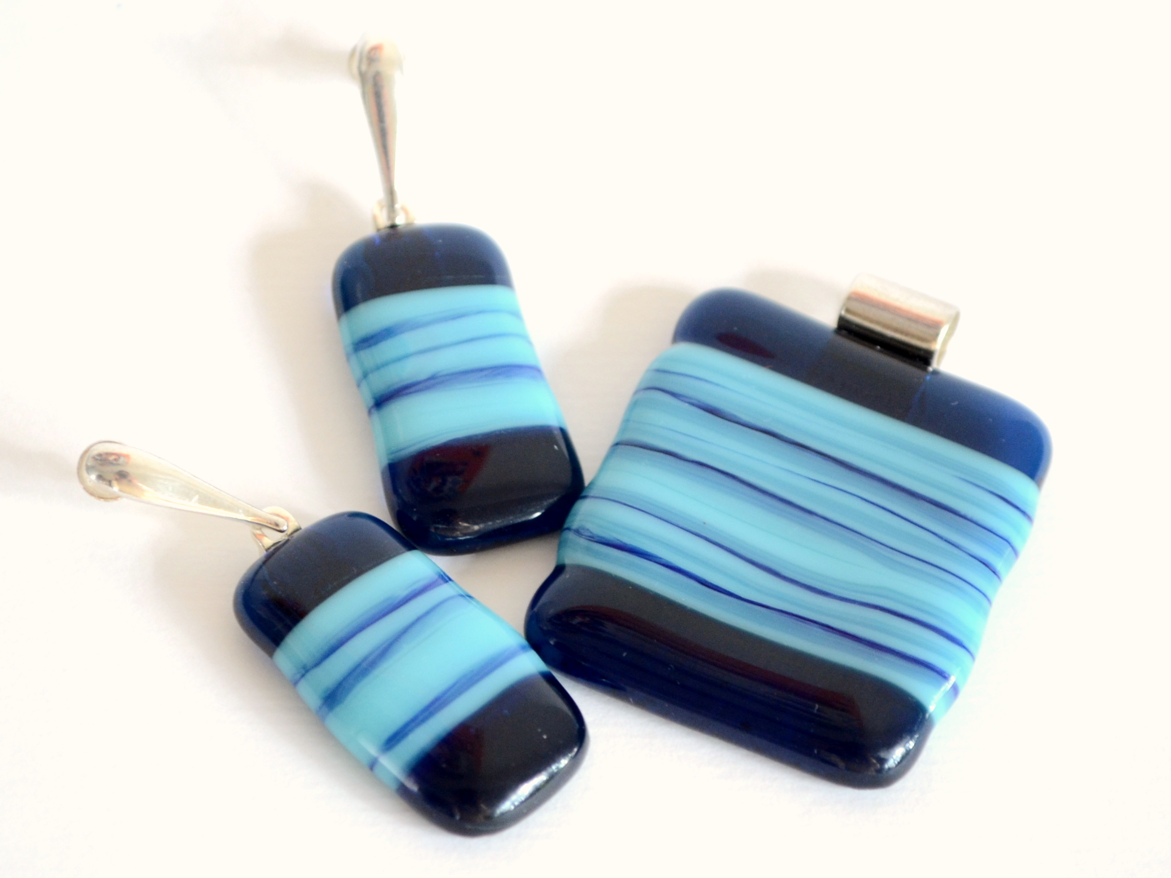 Waddenzee - Glass Jewellery Set