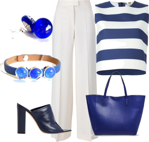 White and Blue – perfect summer combination