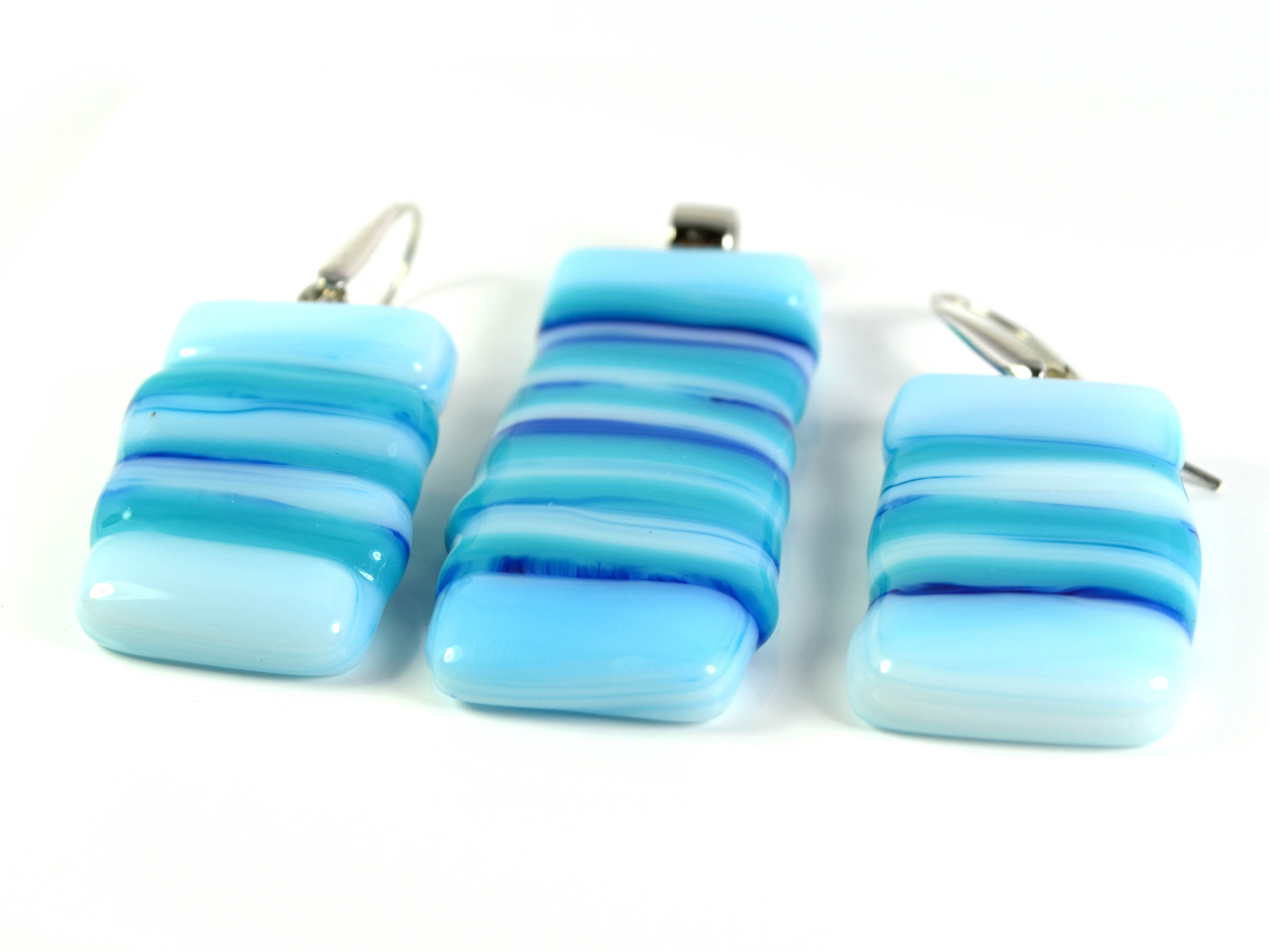 Mediterane - Glass Jewellery Set