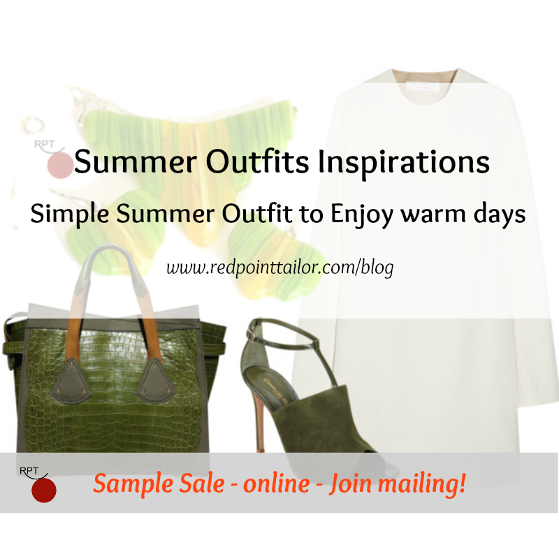 Simple Summer Outfit to Enjoy Warm Days