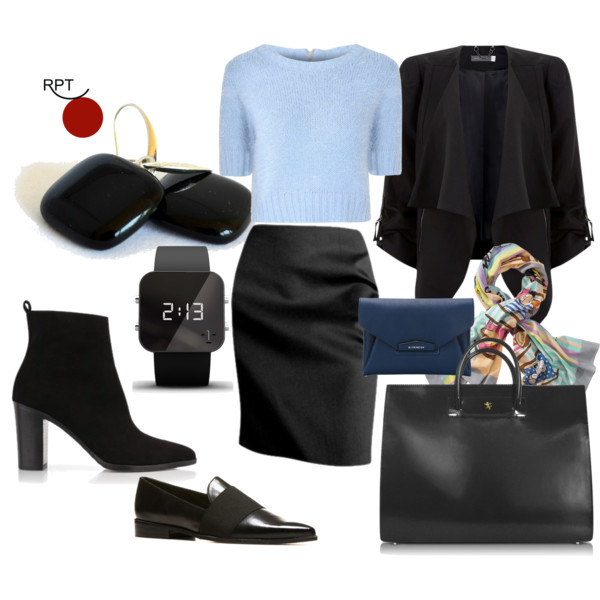 Office Outfit Pure Simplicity
