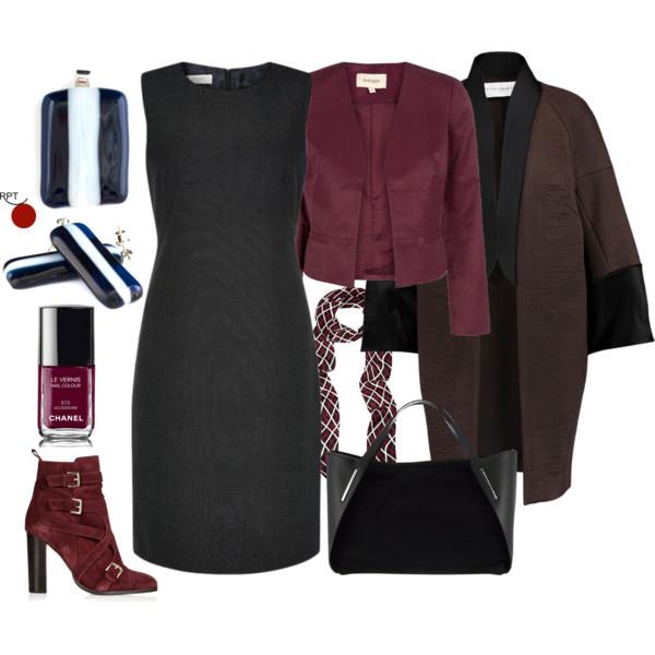 November Monday Office Attire – One Dress Many Looks