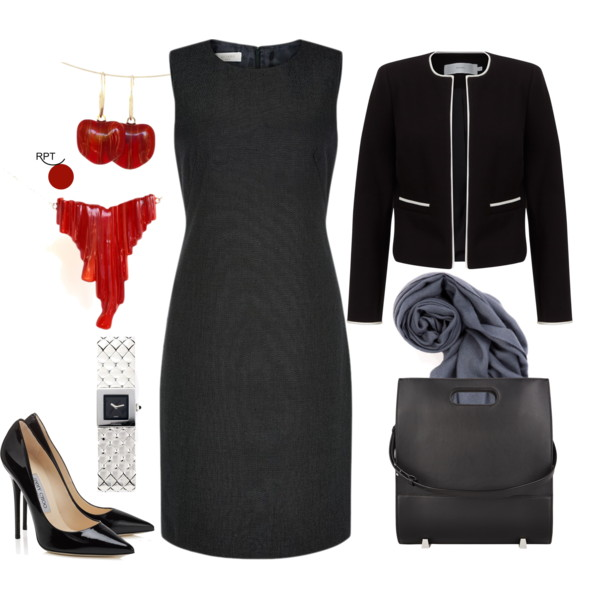 One Dress Many Looks – Thursday Office Outfit