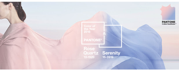 Colour of the Year 2016 – Rose Quartz & Serenity