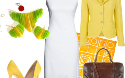 How to Style Yellow Jacket – Summer Office Essential