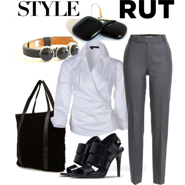 Style Rut – Perfect Monday Office Outfit