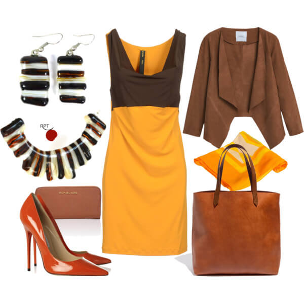 Today on the agenda – First Autumn Day – Office Attire Inspiration