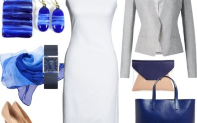 How to Style Little White Dress to the office – a Little Summer in Autumn