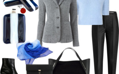 Today on the agenda – Casual Comfort – One Jacket Many Looks