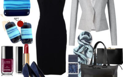 How to Style Little Black Dress to the Office – Autumn Office Outfit