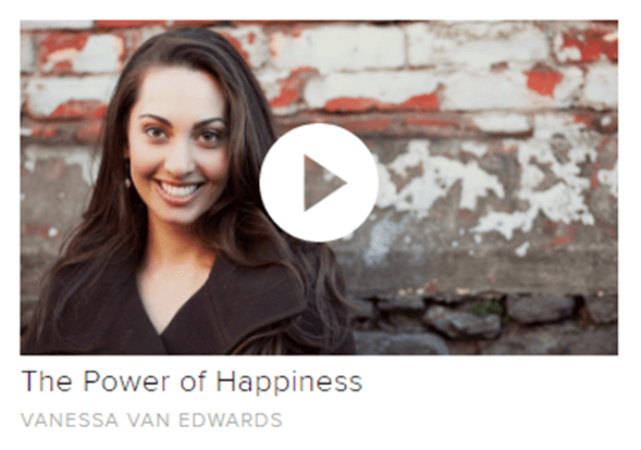 career minded women, CreativeLive, get inspired, happiness, lifestyle, mindfulness, online classes, personal development, savvy women, The Power of Happiness, unleash your creativity, Vanessa van Edwords, women who work, women who works