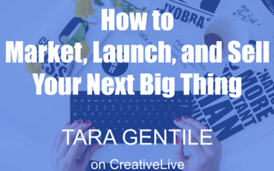 Learn How to Market, Launch, and Sell Your Next Big Thing