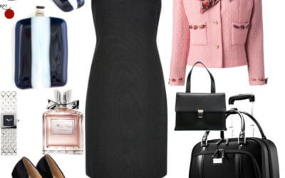 My #1 Business Outfit Combination – Little Black Dress and French Jacheck