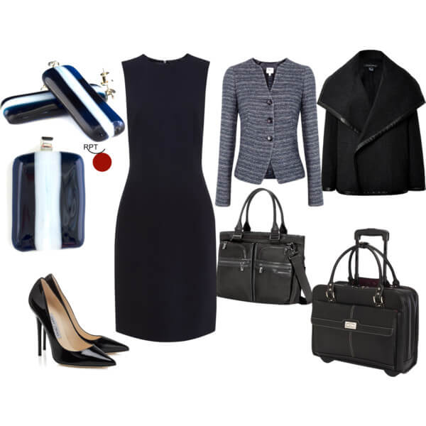 One Dress Many Looks - Tuesday Office Attire