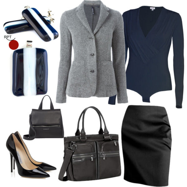 Today on the agenda – Less Warm Days – Office Attire Inspiration